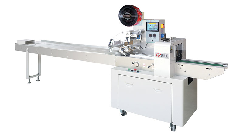 ZP-100 Flow Packaging Machine with High Speed and Ce
