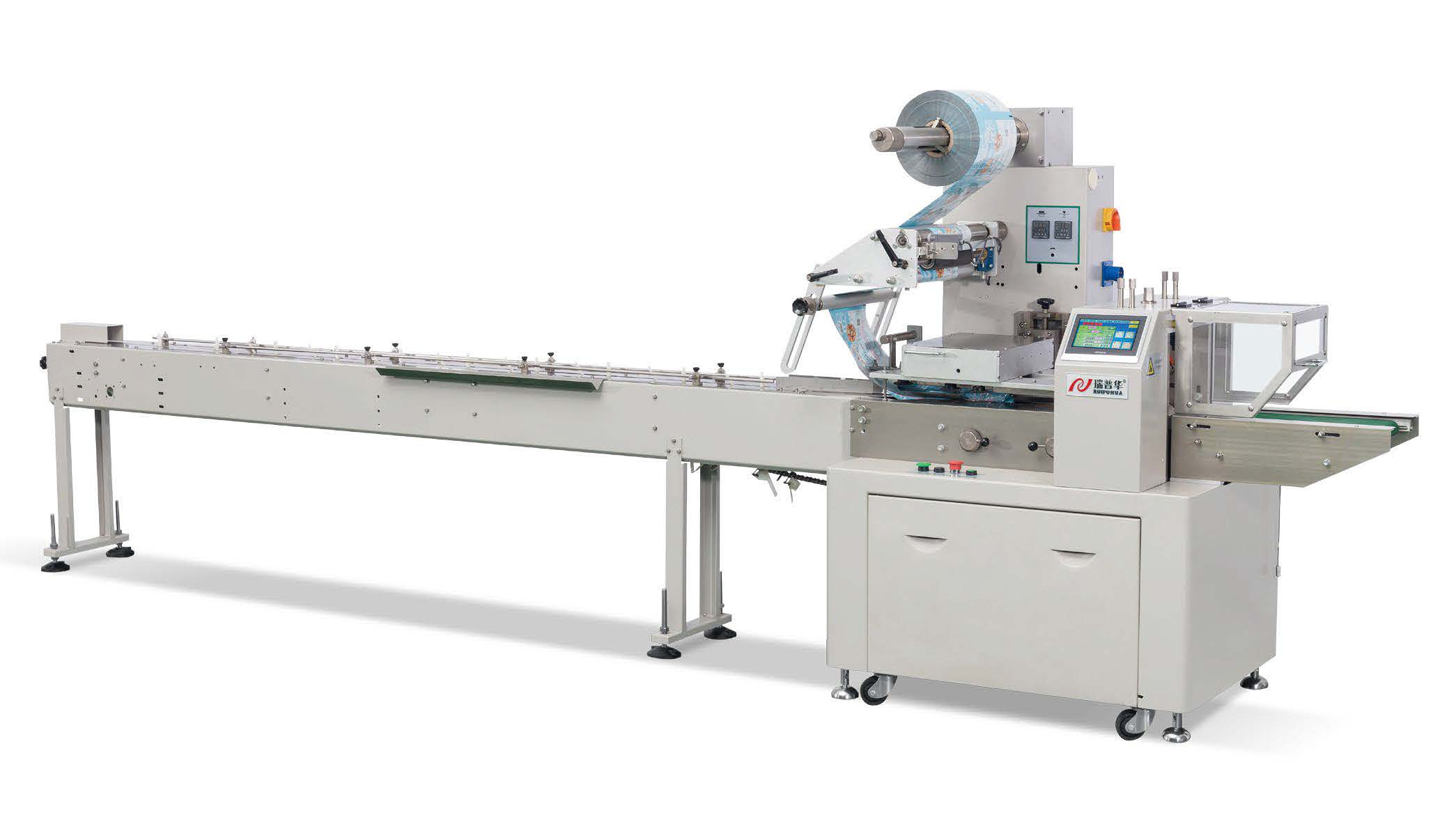 Tray less / Biscuit on edge flow packaging machine ZP-500W