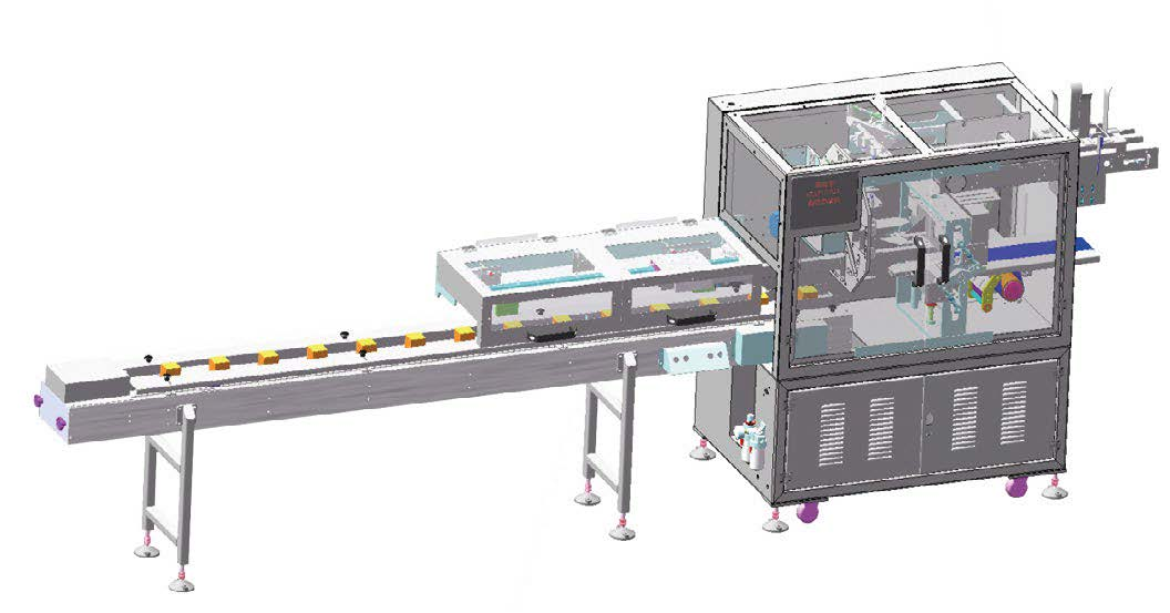 Automatic bagging machine DKD60  (Straight line feeding type)