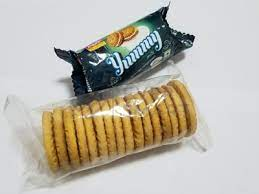 On edge biscuit packaging system
