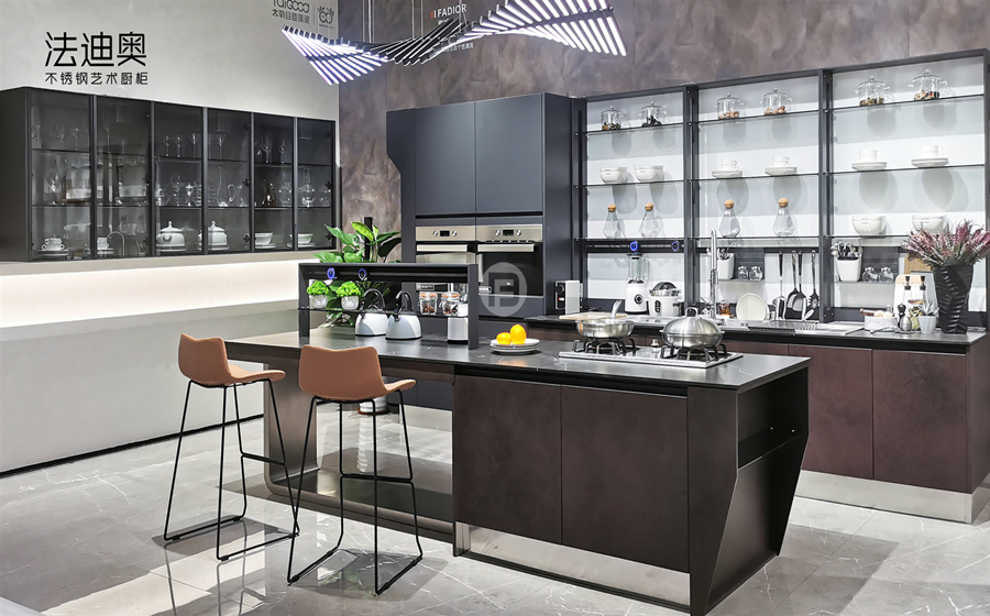 Fadior Stainless Steel Kitchen - FN003 Rock City