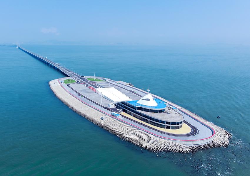 港珠澳大桥人工岛口岸
