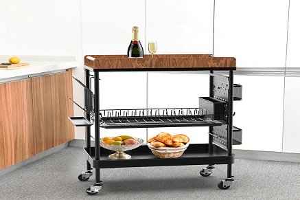 Get Trolley Cart Kitchen Ideas for a More Efficient Kitchen