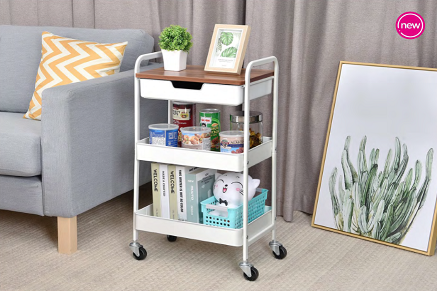 The Practical Use of The Utility Rolling Cart
