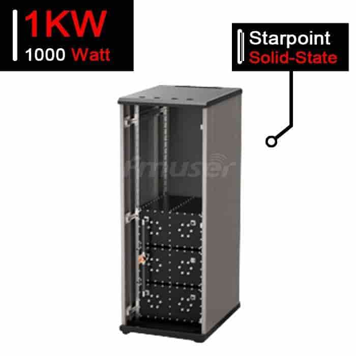 N-Channel 1kW Solid State FM Starpoint Combiner 1000W Cabinet Type Combiner for sale