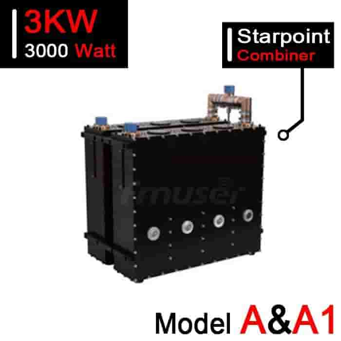 167-223 MHz 3kW VHF Starpoint Combiner for TV Station - Model A