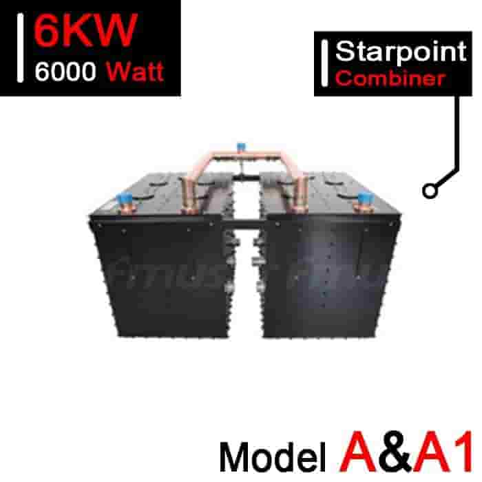 167-223 MHz 6kW VHF Starpoint Combiner for TV Station - Model A