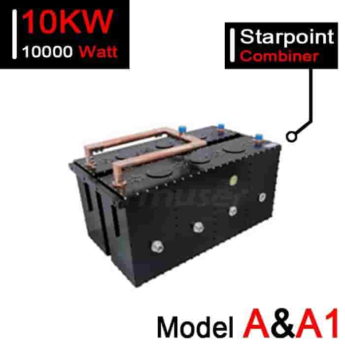 167-223 MHz 10kW VHF Starpoint Combiner for TV Station - Model A
