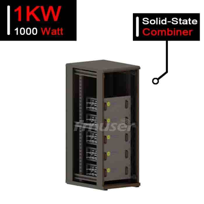 1kW UHF Solid State Digital Balanced Combiner Cabinet Type CIB Combiner for TV Station