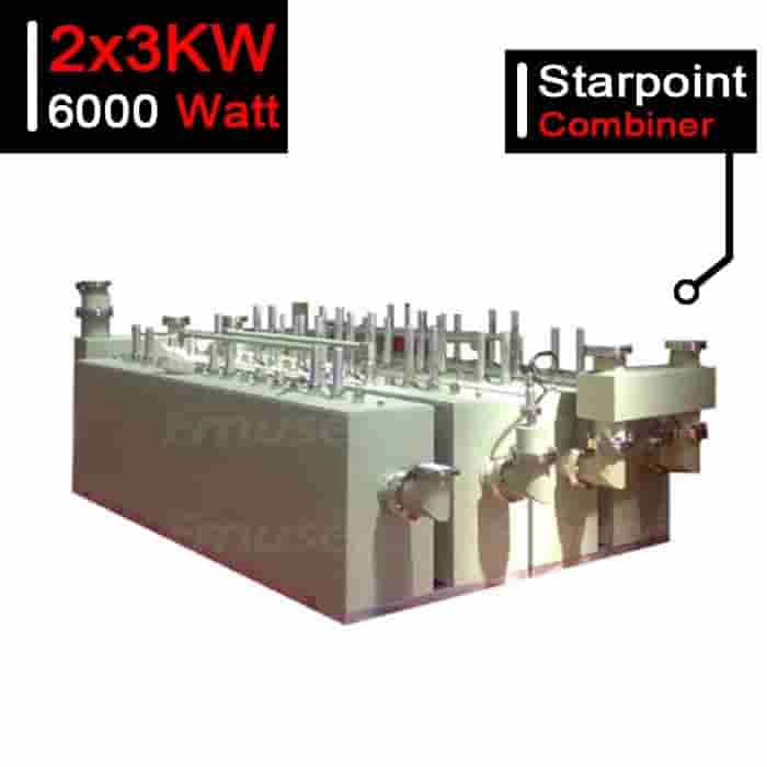 6000W UHF DTV Starpoint Combiner 6kW DTV Branched Combiner for TV Station