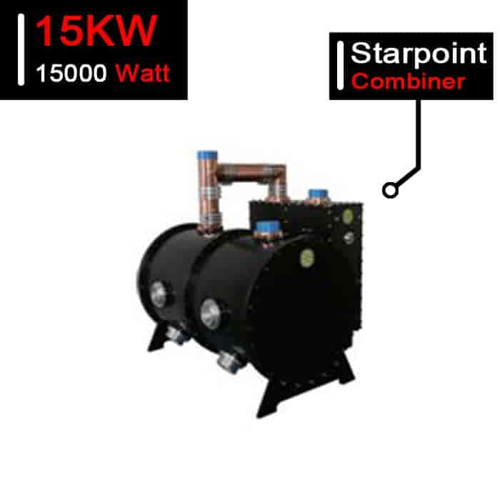 15kW UHF Analog TV Starpoint Combiner 15000W ATV Branched Combiner for TV Station