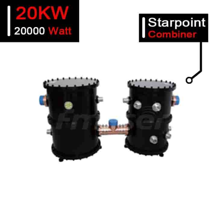 20kW UHF Analog TV Starpoint Combiner 20000W ATV Branched Combiner for TV Station