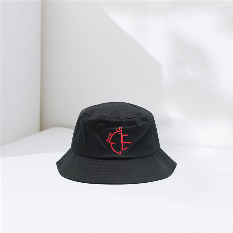 hot selling fisherman hats custom embroidery fresh bucket cap