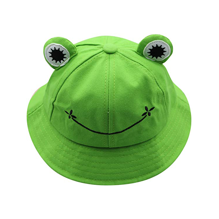 The Hat Depot Youth Kids Cotton Packable Bucket Travel Hat Cap
