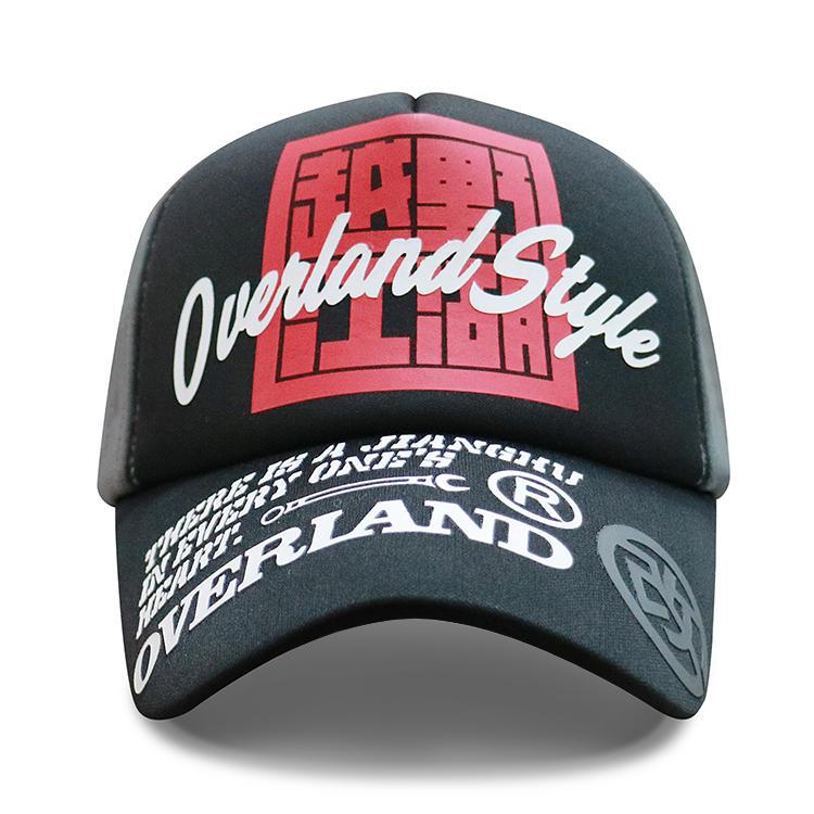 Wholesale Hip Hop Embroidery Printed Custom Logo 5 Panel Sport Gorras Gorros Embroidery Foam Hat Cap