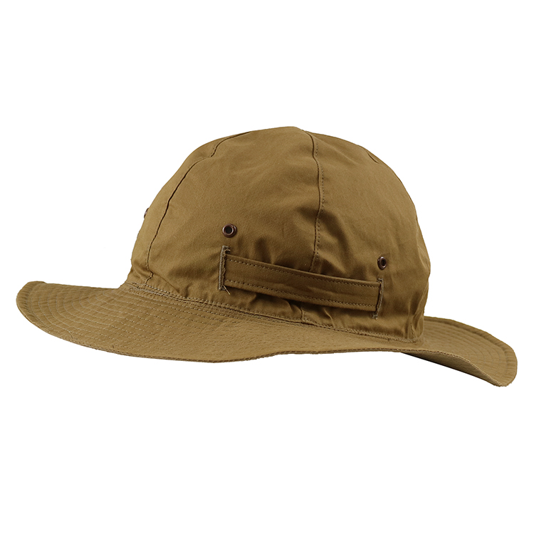 ACE Upf 50+ Wide Brim Cotton Material Blank  Bucket Hat Fishing Cap Hat