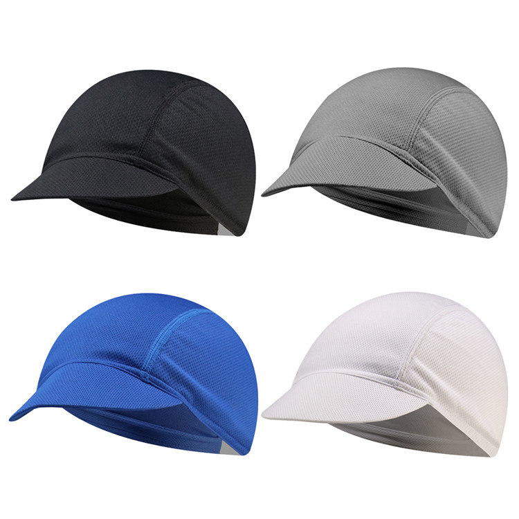 Liner Sweat Wicking Hats Cooling Outdoor Sports Cap for Men and Women Cycling Skull Caps