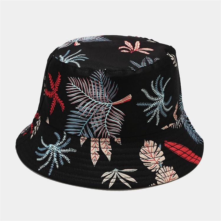 Bucket Hat Travel Sun Uv Protection Print Hats for Women Outdoor