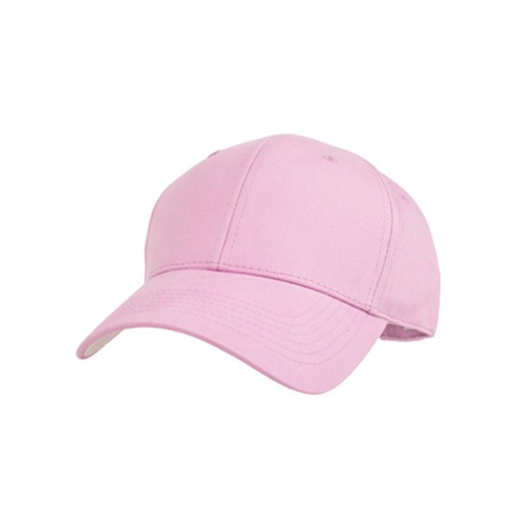 Plain Structured Baseball Cap, Cotton Dad Hat Fits Men Women, Adjustable Low Profile
