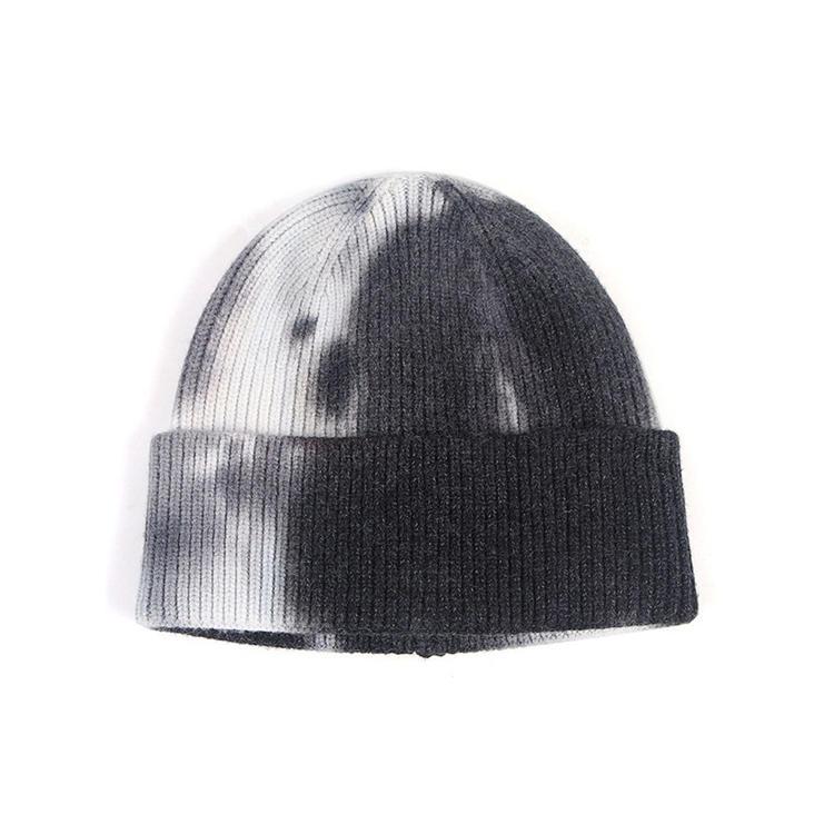 BSCI Acrylic gorros Slouchy beanie,Blank Plain Ski Custom Tie-dyed Fabric Knit Skull Beanie hat