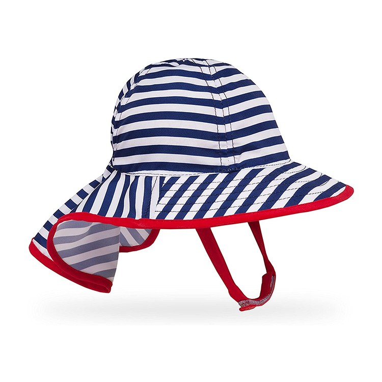 100% Polyester Hand Wash UPF 50+ sun Rating cute baby Infant Sunsprout Hat
