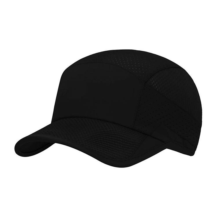 Mesh Baseball Cap Quick Dry Running Hat Adjustable Buckle Sport Cap Outdoor