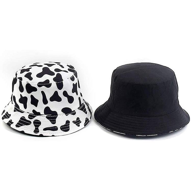 Plain Bucket Hat Wholesale Polyester Bucket Hat Sublimation Custom Logo Bucket Cap