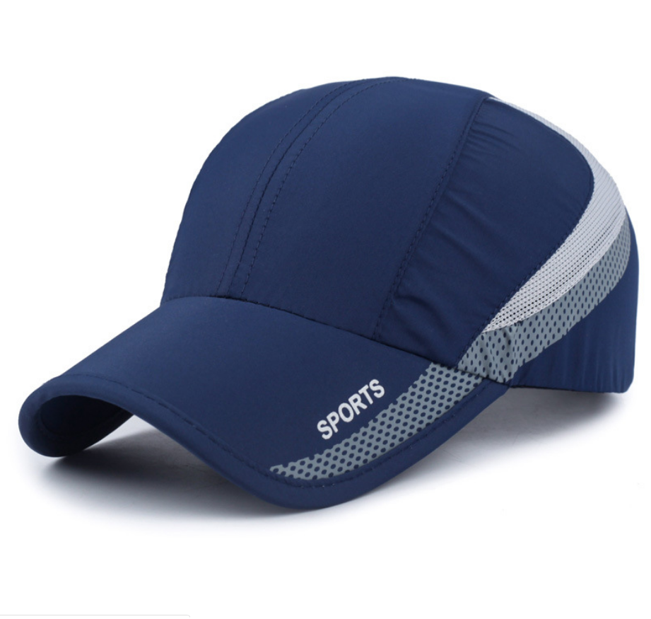 Unstructured Outdoor Sports Cap Quick Dry Hat Sun Protective for Adults Women and Men