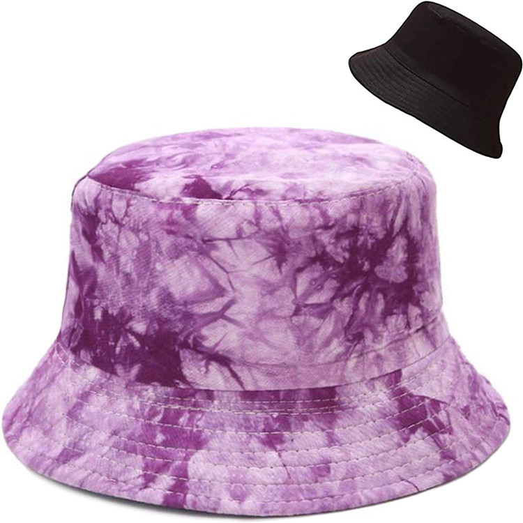 Unisex Print Double-Side-Wear Reversible Polyrster Sublimation Bucket Hat