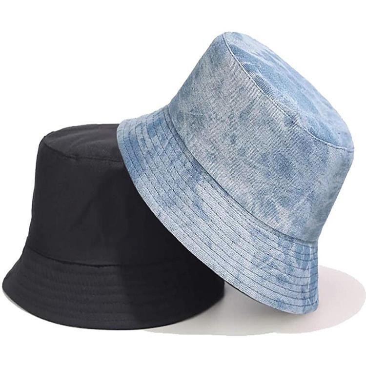 Unisex Reversible Plain Polyester Sublimation Travel Sun Bucket Hat