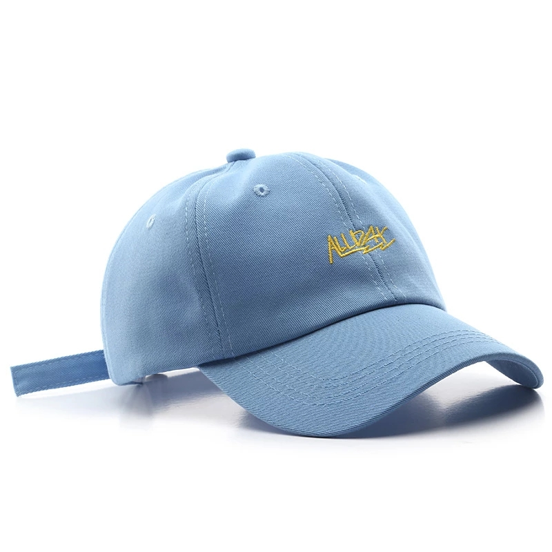 Embroidery Customized Baseball Cap for Unisex Words Classic Dad Hat