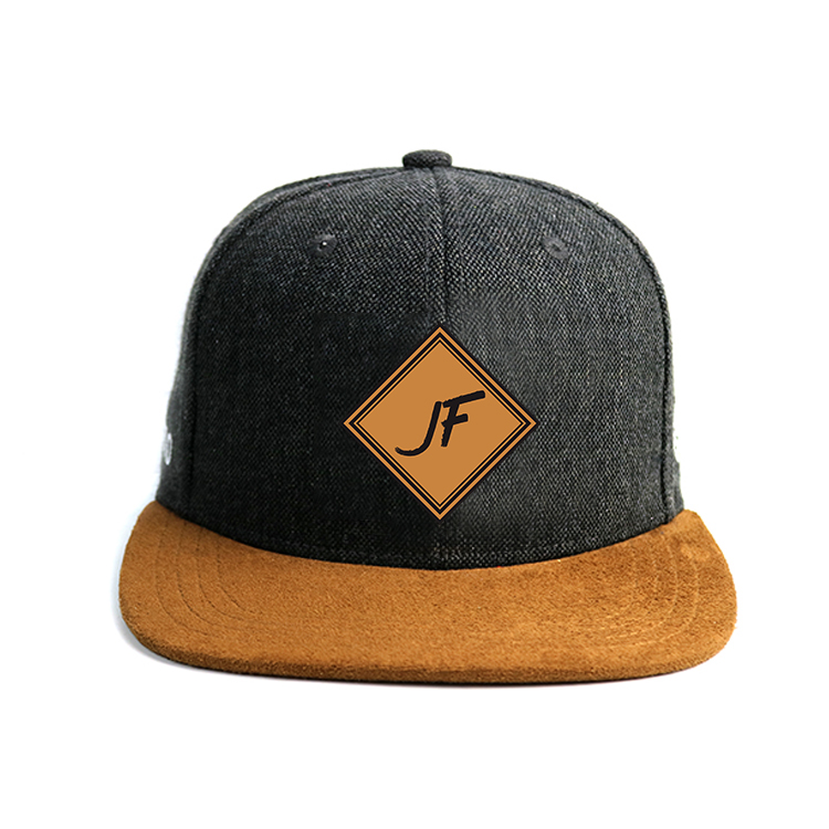 Cotton Flat Bill Gorras 3D Embroidered Snapback Hats For Men