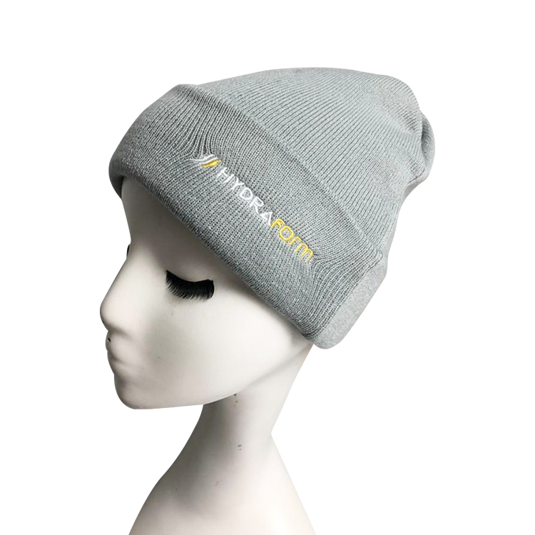 Custom Embroidery Logo Acrylic Fisherman Beanies for Men And Women Winter Outdoor Hat