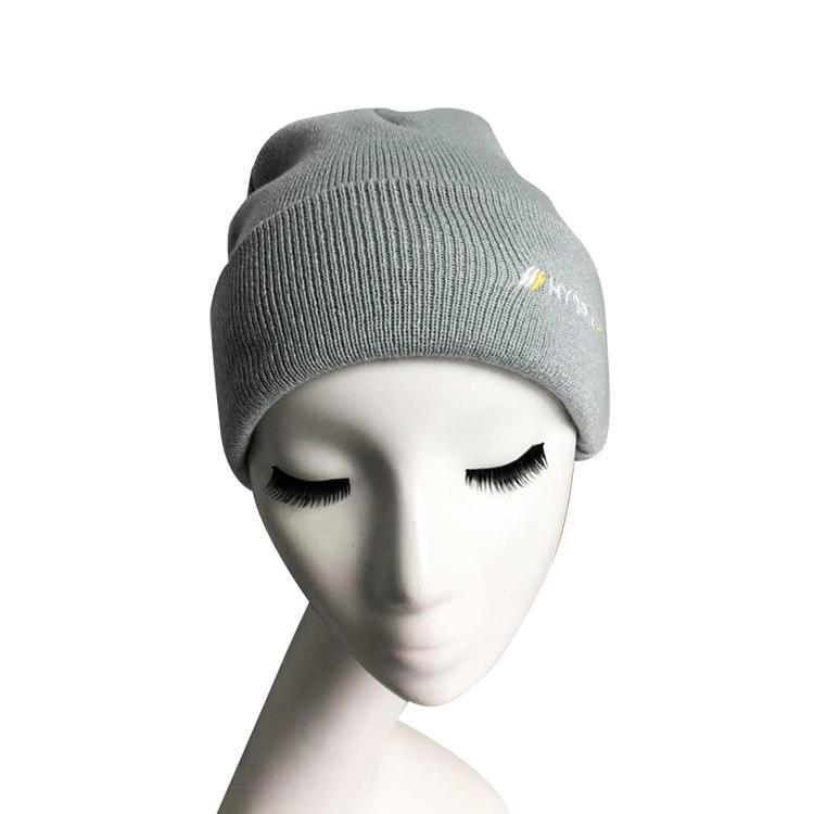 Custom Beanie Hat Roll-up Edge Skullcap Fisherman Beanie for Men Women