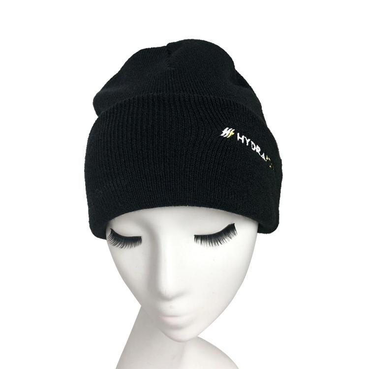 Beanie Men Slouchy Knit Skull Cap Warm Stocking Hats Guys Women Striped Winter Beanie Hat Cuffed Plain Hat