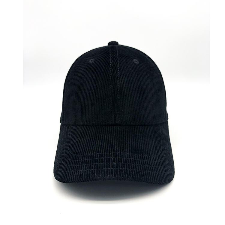 Corduroy Baseball Cap for Men Women Dad Hat 6 Panel Classic Adjustable Low Profile Cotton Caps