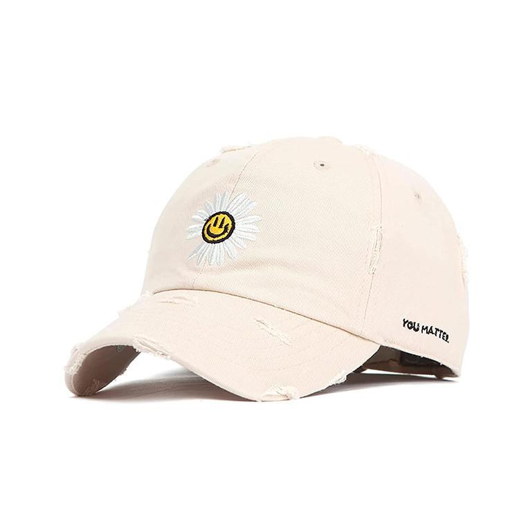 100% Cotton Hat for Mens Womens Baseball Hat Adjustable Outdoor Logo Hats Black