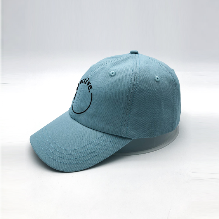 100% Cotton Adjustable Baseball Hat with Curved Brim Embroidery Dad Hat For Outdoor