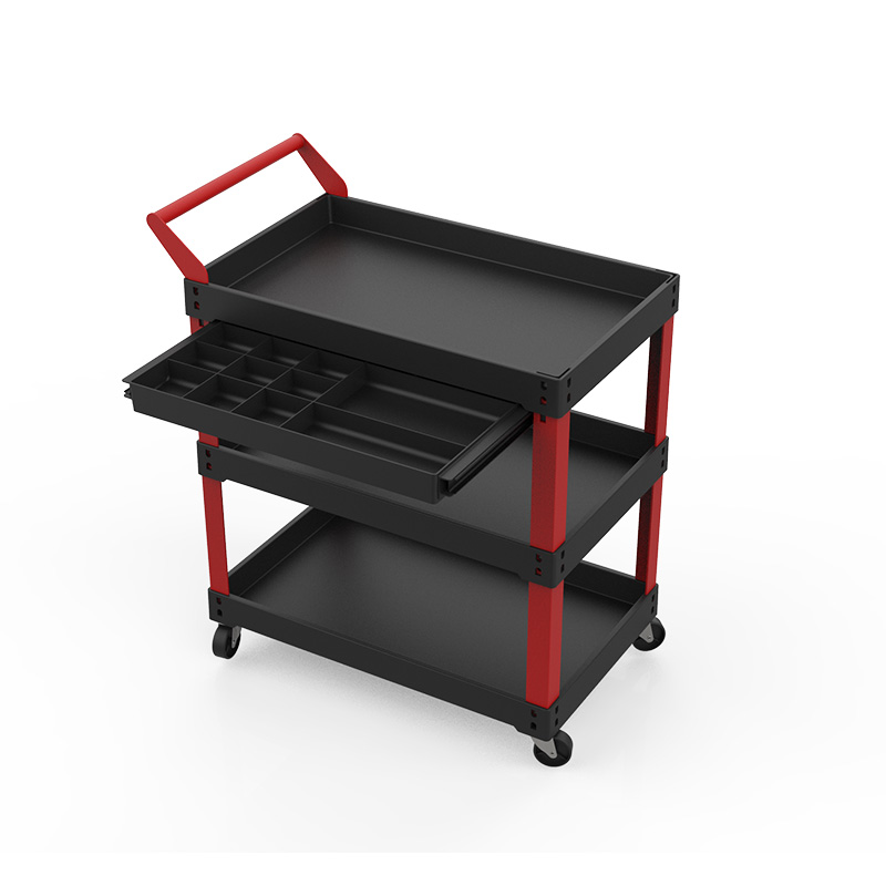 Heavy Duty Tool Cart With Tool Cabinet WK5003-3B