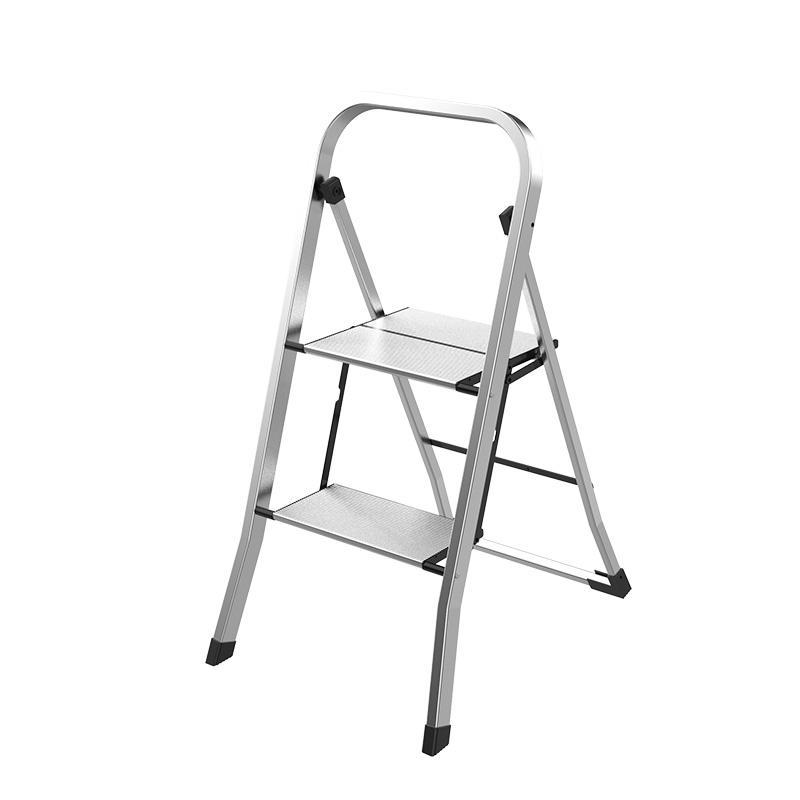 2 Step Household Aluminum Ladder WK3002B-2