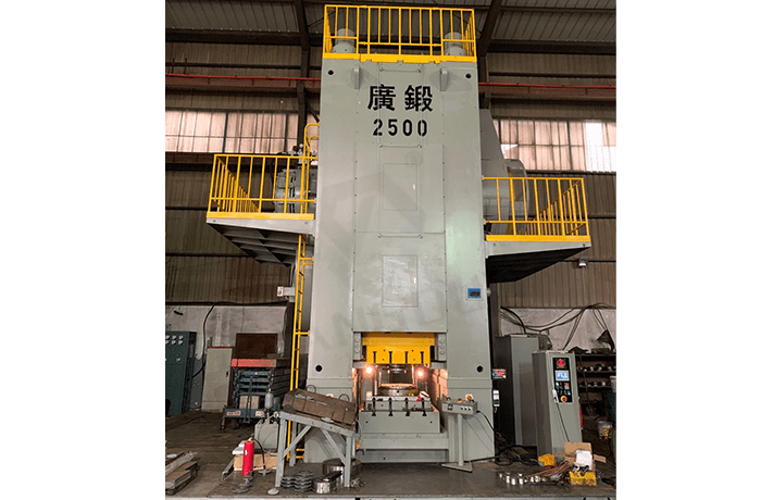 GK 2500 Ton Knuckle Joint Precision Forging Press For