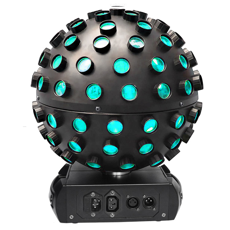 Colorful LED sound control rotating magic ball stage light