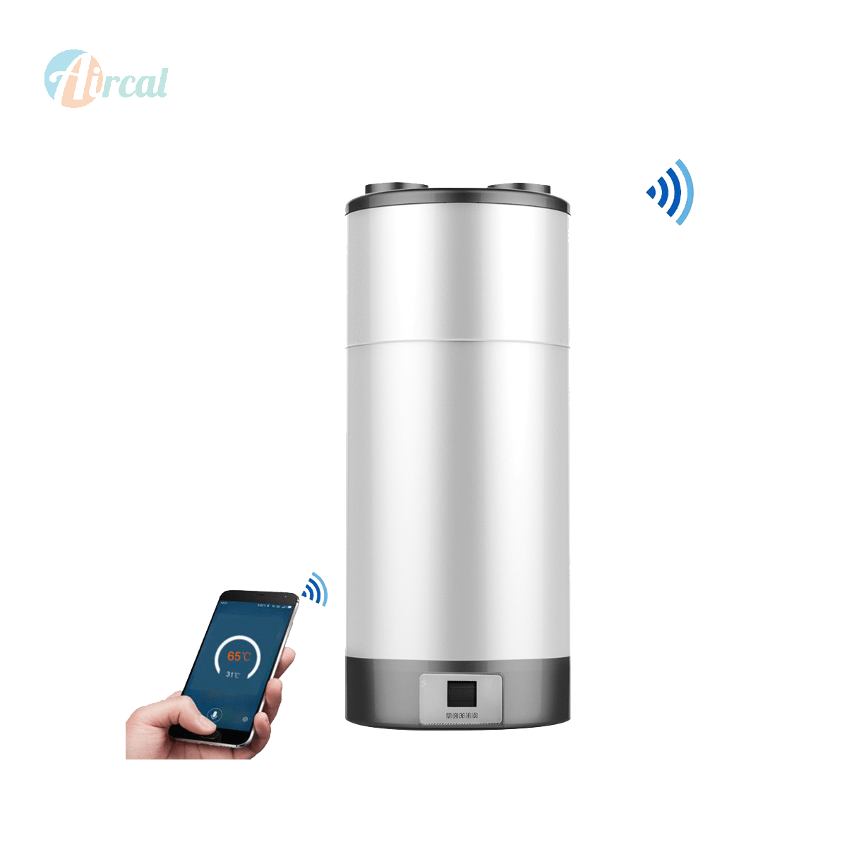 Smart 100L All in One wall mounted Hot Water Heat Pump A+ energy label economical water heater