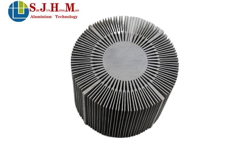 LED High Bay Light Radiator Aluminum Profile
