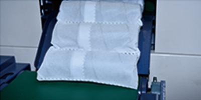 YT-HQ-2 Pocket Spring Row Cutting Machine Sample