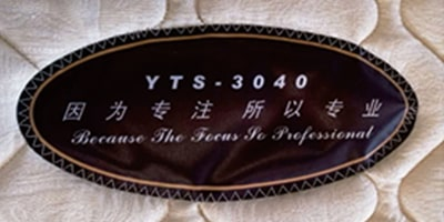 Automatic Label Sewing Machine Sample