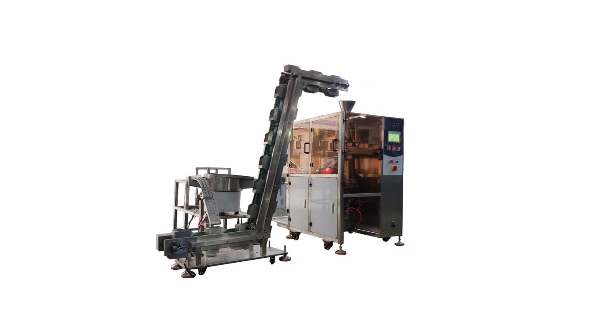 HY IYP 50 Automatic Sachets Milk Powder Candy Counting and Packing Machine