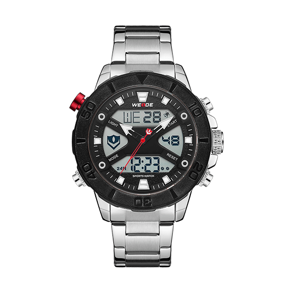 Weide Lcd Multifuntion Mens Sports Watches