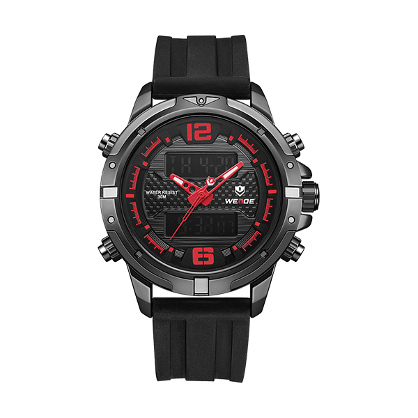 Weide Lcd Digital Mens Wholesale Watches