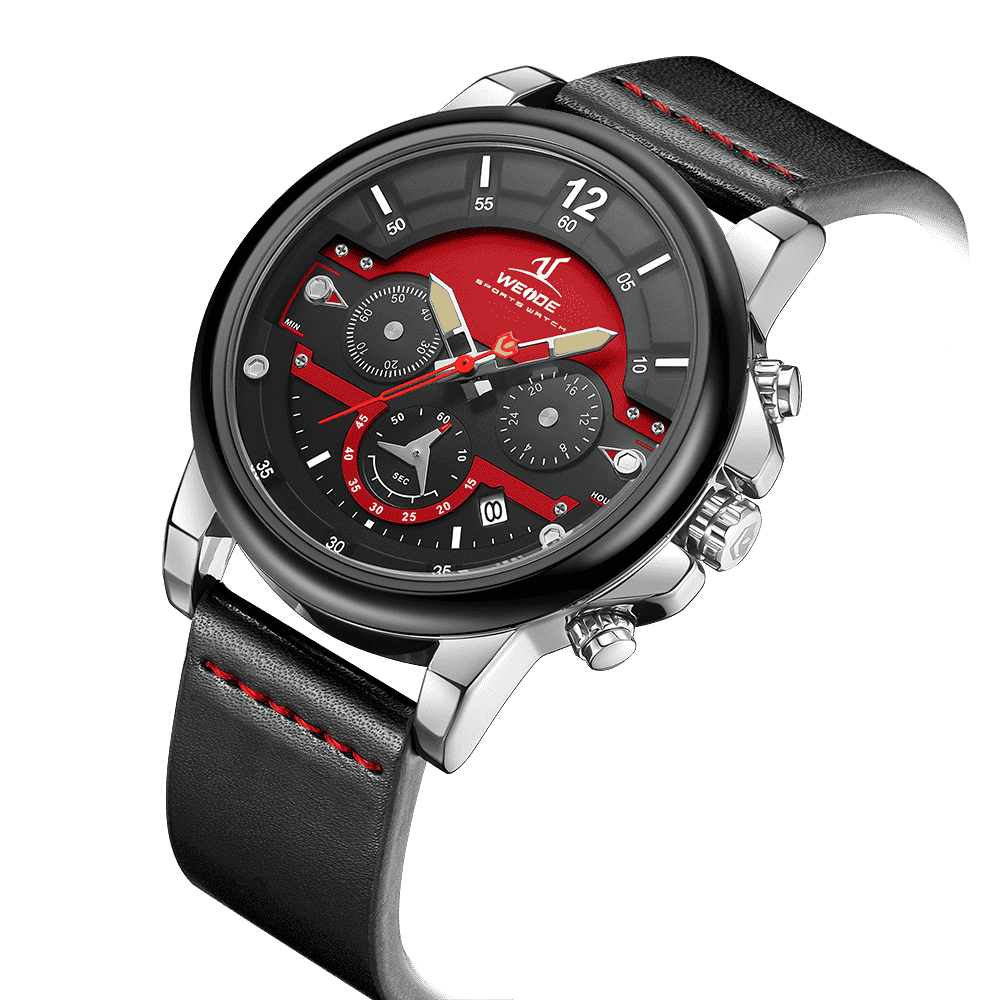 Weide 2021 popular male waterproof chronograph watches for men